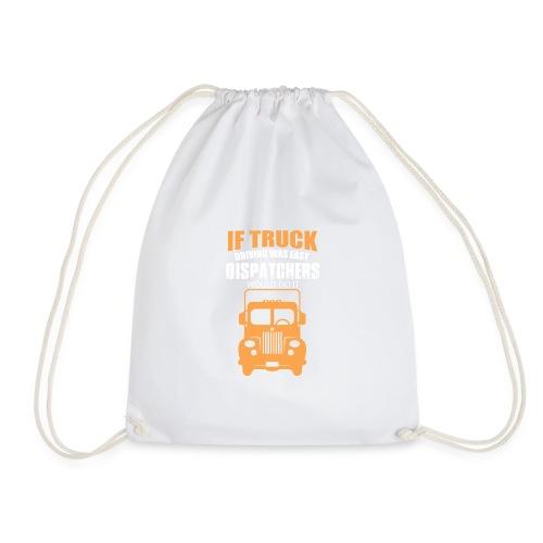 IF TRUCK - Drawstring Bag