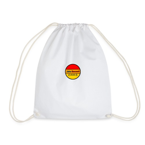 Jake Bennett Original Logo Merch - Drawstring Bag