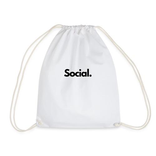 Social Fashion - 'Social' - Drawstring Bag