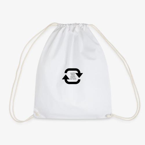 Drive fuel drive repeat - Drawstring Bag