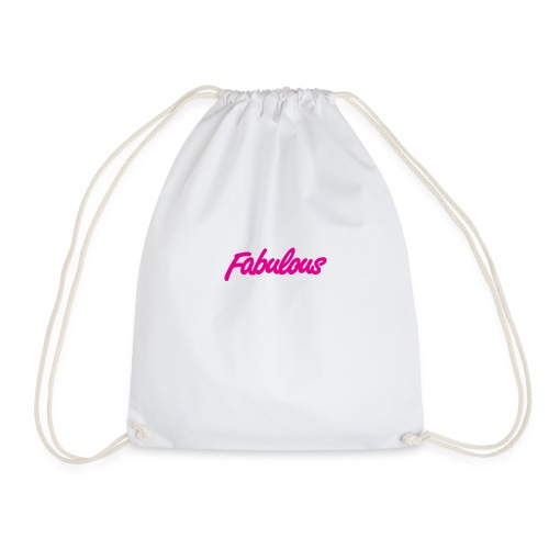 Fabulous - Drawstring Bag