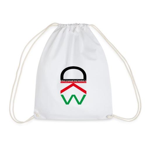King Diamond Wings Colored Logo - Drawstring Bag