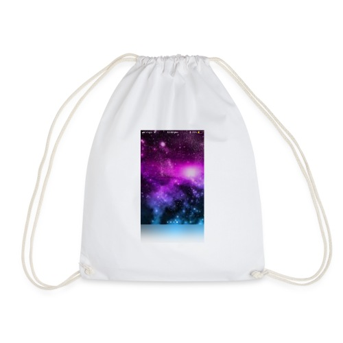 Galaxy long sleeved t-shirt kids - Drawstring Bag