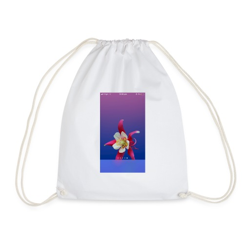 Flower iPhone case - Drawstring Bag