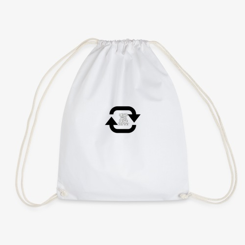 Drive fuel drive repeat - Drawstring Bag