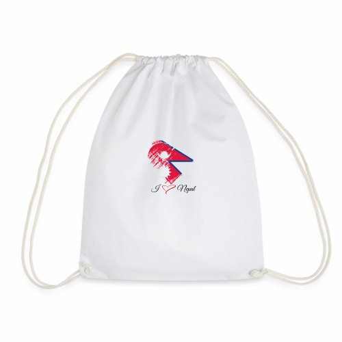 Nepali lovers - Drawstring Bag