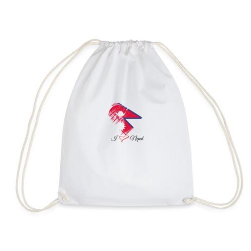 Nepali lovers - Drawstring Bag