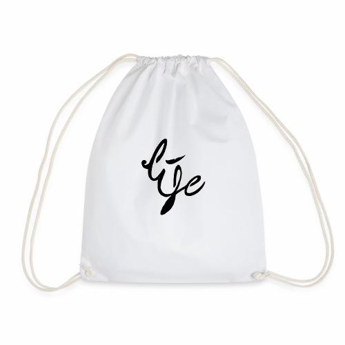 Life Logo simple black - Sac de sport léger