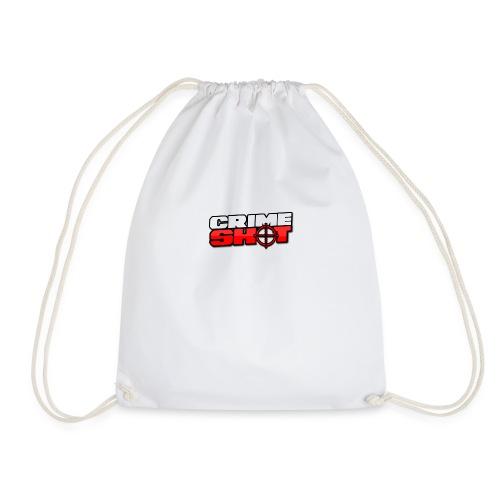 Crimeshot New Logo - Drawstring Bag