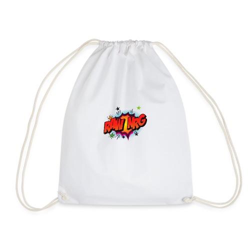 Raw Nrg comic3 - Drawstring Bag
