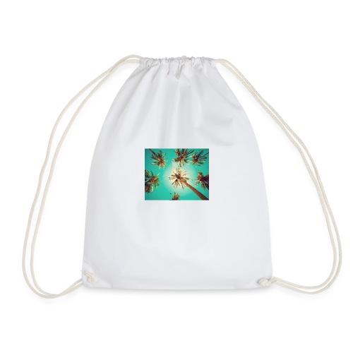 palm pinterest jpg - Drawstring Bag