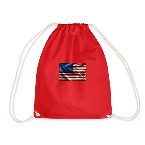 amerikaanse vlag - Gymtas