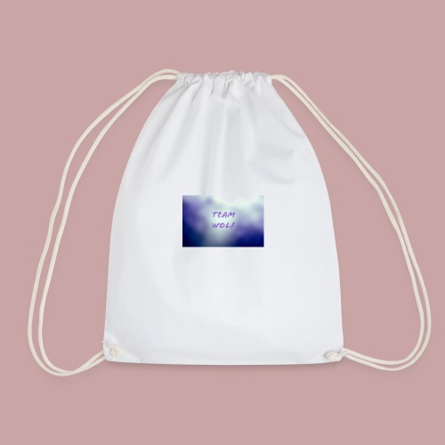 Team Wolf Box - Drawstring Bag