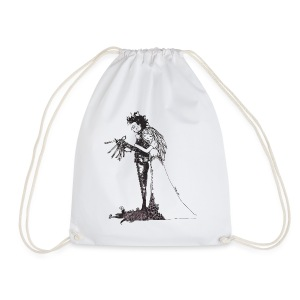 EdwardScissorhands.jpg - Drawstring Bag
