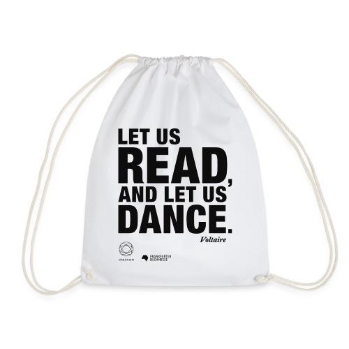 LET US READ   Bookish Merch - Turnbeutel