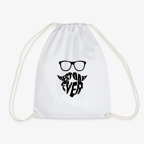 Father's Day - Best Dad Ever - Drawstring Bag
