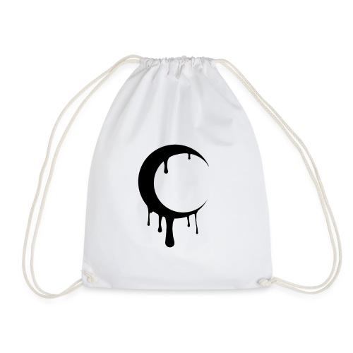 Blurry Moon - Drawstring Bag