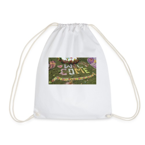 welcome - Drawstring Bag