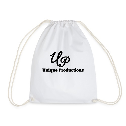 Unique Productions Logo - Drawstring Bag