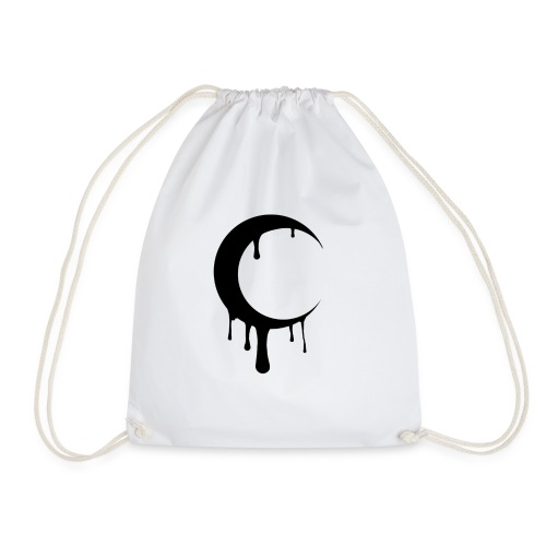 Blurry Moon - Drawstring Bag