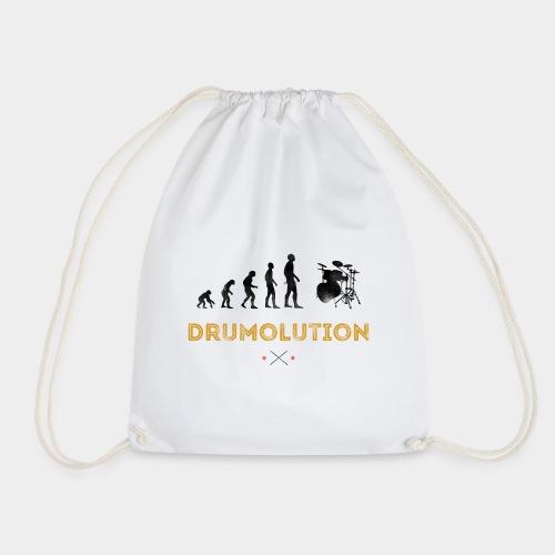 Evolution Drummer Schlagzeuger Drumolution - Turnbeutel