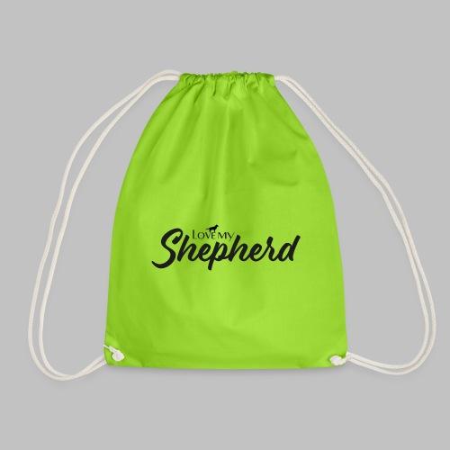 LOVE MY SHEPHERD - Black Edition - Dog Lover - Turnbeutel