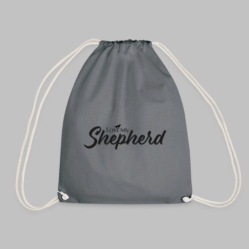 LOVE MY SHEPHERD - Black Edition - Dog Lover - Turnbeutel