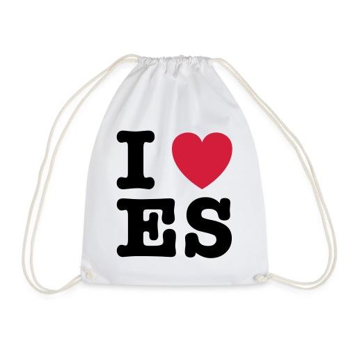We Love ES - Turnbeutel