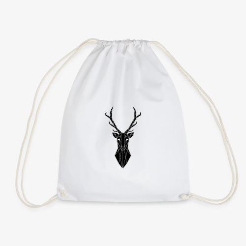 cervo stilizzato - Sacca sportiva