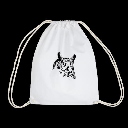 Artist Owl - Drawstring Bag