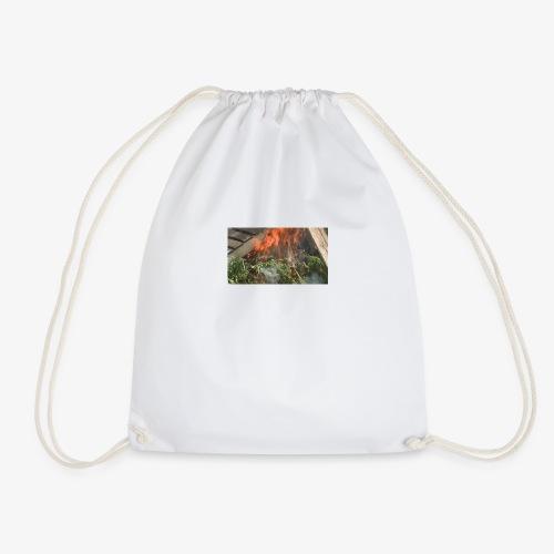Burning weed, right? - Drawstring Bag