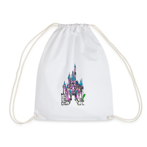 Fairy Tale Castle - Drawstring Bag