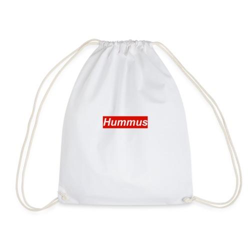 Hummus hoodie - Drawstring Bag