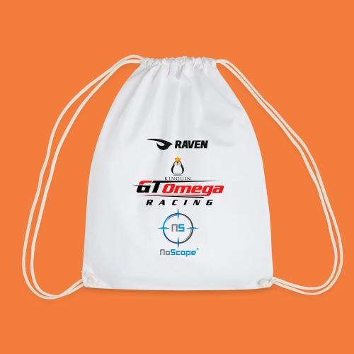 NoScope Logo Vertical png - Drawstring Bag