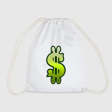 dollar - Drawstring Bag