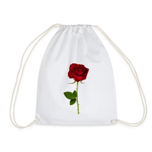 Rød Rose - Sportstaske