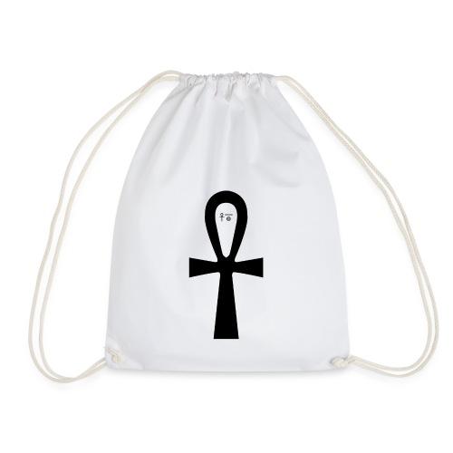 Anch - Symbol für (ewiges) Leben - Turnbeutel