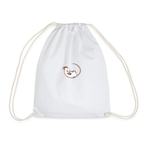 Sleeping mouse - Drawstring Bag