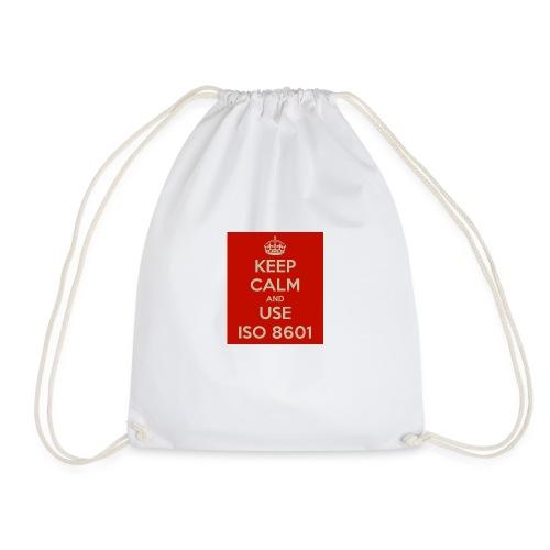 keep calm and use iso 8601 - Gymbag