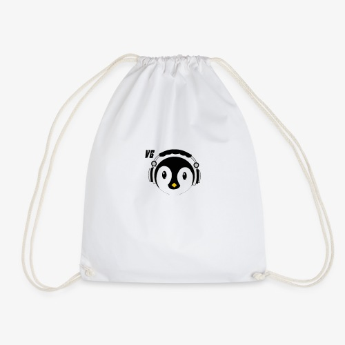 Channel logo T shirt - Drawstring Bag
