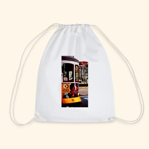 Scorcio tram colorato - Sacca sportiva