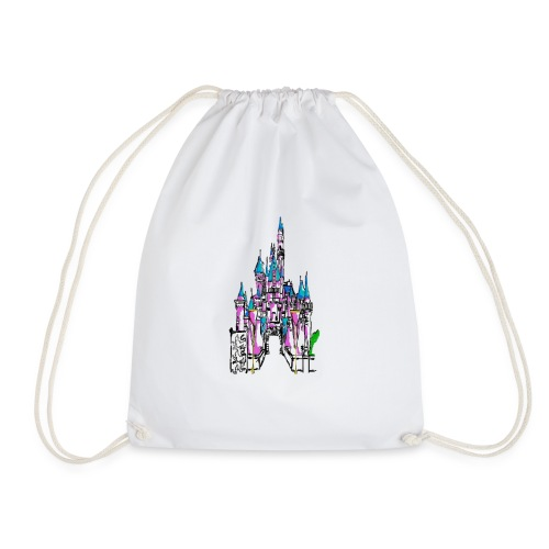 Fairy Tale Castle - Drawstring Bag