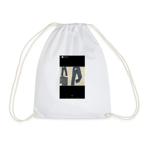 Allowed reality - Drawstring Bag