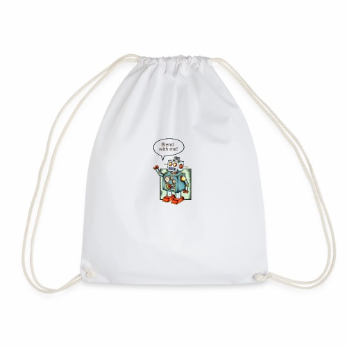 Blend with me - Drawstring Bag