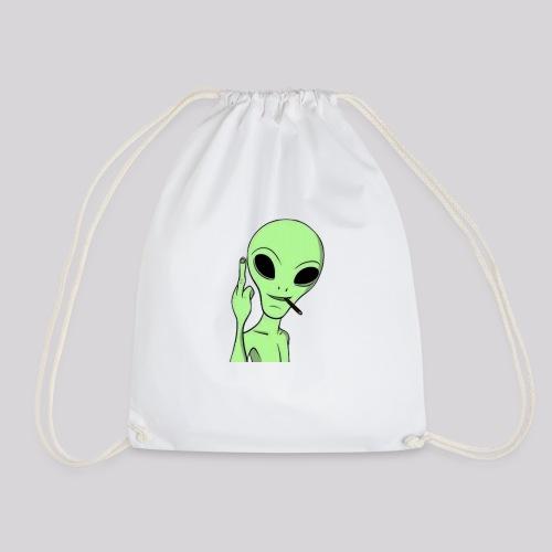Alien tumblr - Mochila saco