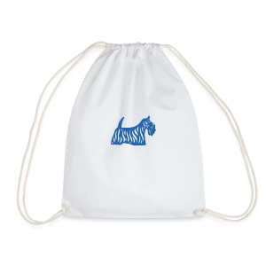 Founded in Scotland logo - Drawstring Bag