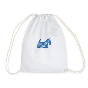 Founded in Scotland logo - Drawstring Bag