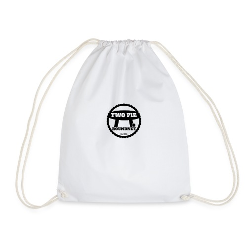 Two_Pie_Logo - Drawstring Bag