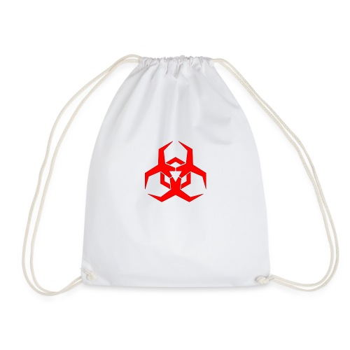 hazardous tee - Drawstring Bag