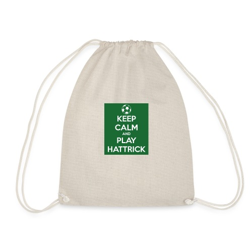 keep calm and play hattrick - Sacca sportiva